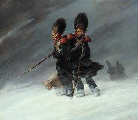Grenadiers in the snow