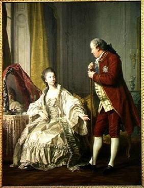 Portrait of the Marquis de Marigny (1727-81) and his Wife