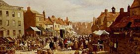 Rayner, Louise : Market day in Chippenham.
