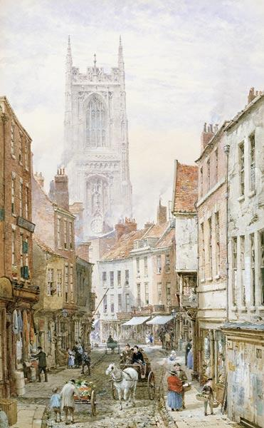 Rayner, Louise : A View of Irongate, Derby