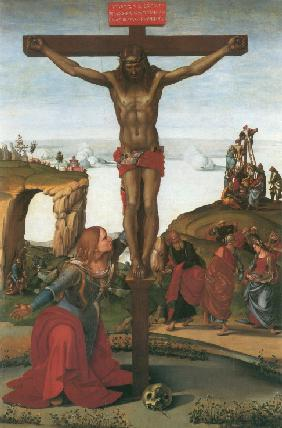 The Crucifixion with Mary Magdalene