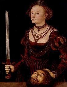 Cranach the Elder, Lucas : Judith with the head of th...