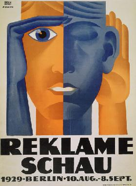 'Reklameschau', poster for the Berlin Advertising Exhibition