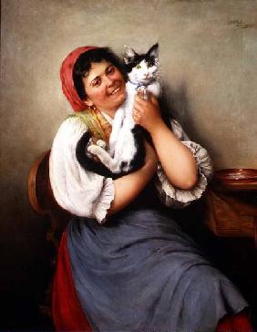 Kohrl, Ludwig : Her Favourite Cat