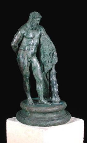 Herakles resting, a reduced