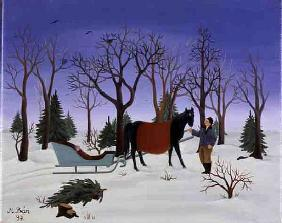 Winter, 1997 (oil on canvas)