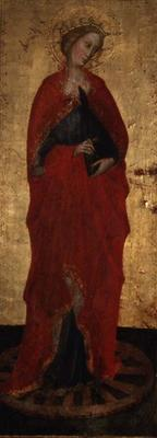St. Catherine (tempera on panel)