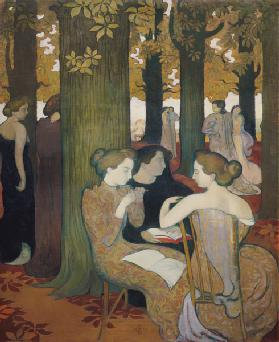 The Muses (or: In the park)