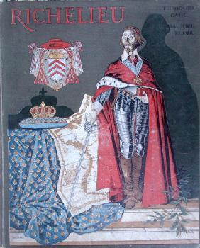Cover illustration for''The Life of Armand-Jean du Plessis, Cardinal Richelieu'' (1585-1642) by Theo