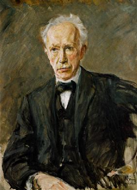 portrait of the composer Richard Strauss