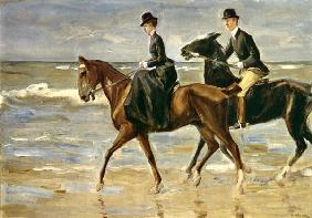 cavaliers at the beach 1903