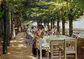 restaurant Jacob at Nienstedten near the Elbe 1902