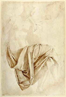 Inv. 1887-5-2-118 Recto (W.10) Study of drapery