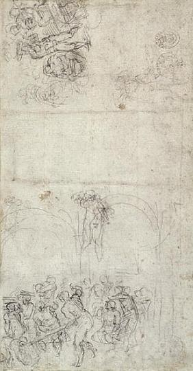 Study for The Last Judgment