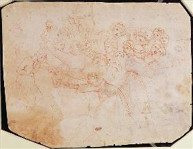 Study for the Massacre of the Innocents (for verso see 191770)