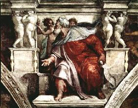 Sistine Chapel Ceiling: The Prophet Isaiah