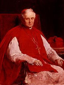 Portrait of the cardinal Haynald.