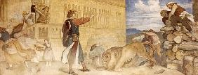 He Treated the Lions as though he was joking, c.1854/55