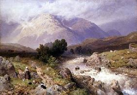 Highland Scene near Dalmally, Argyll