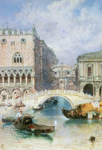 The Bridge of Sighs, Venice