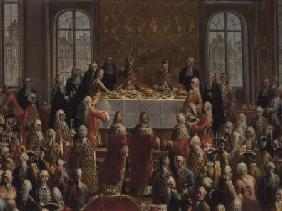 The Coronation Banquet of Joseph II (1741-90), Emperor of Germany