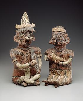 Male and female figure, 100 BC-400 AD