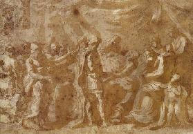 Study for the Death of Germanicus