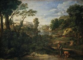 Countryside with Diogenes.