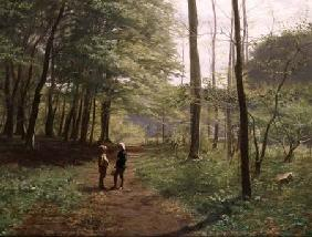 Hansen, Niels Christian : A Walk in the Forest