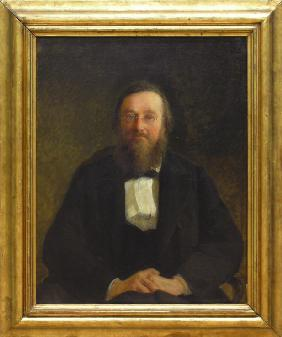 Portrait of the Historian Nikolai I. Kostomarov (1817-1885)