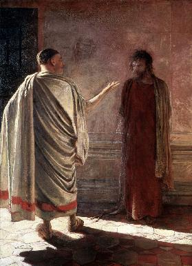 What is Truth? Christ Before Pilate