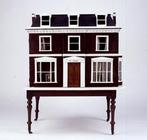 'The Cedars, Woodbridge', dollshouse, view of the front, English, late 19th century (mixed media) (f