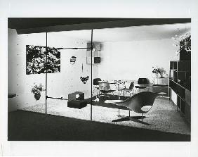 Charles and Ray Eames stand, page 80 from the catalogue for 'An Exhibition for Modern Living'
