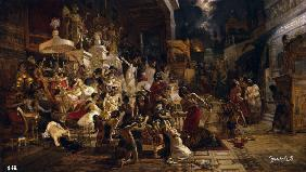 Feast of Belshazzar / Surikov