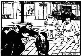 F.Vallotton, The Anarchist