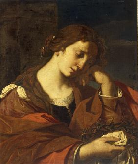 G.Barbieri, The Penitent Magdalene.
