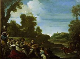 Guercino, Summer Diversions / Paint.