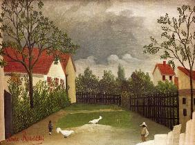 Rousseau, Henri Julien-F�lix : H.Rousseau, Chicken Run