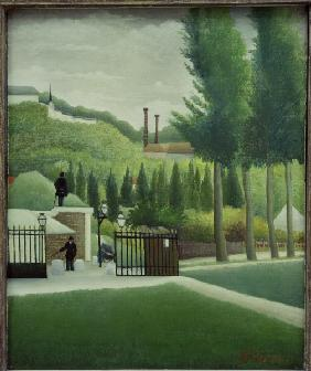 Rousseau, Henri Julien-F�lix : H.Rousseau, The Toll Gate