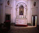 Interior view of the chapel, possibly designed by Giacomo Vignola (1507-73) (photo)