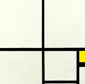 Composition with yellow /1930
