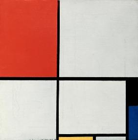 Composition in red, �