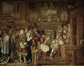 Louis XIV Receives Flavio Chigi, 1664