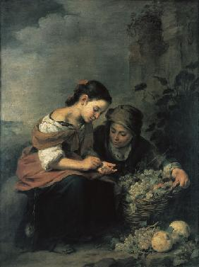 Murillo, The Little Fruit Seller