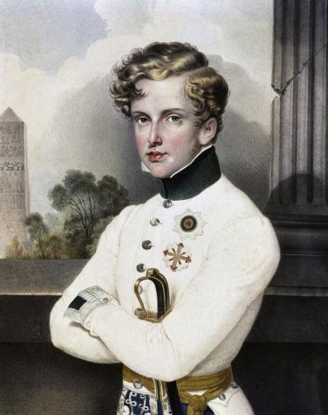 Napoleon Ii Watercolour Artist Artist As Art Print Or