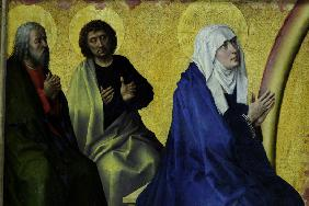 R. van der Weyden, Virgin and apostles