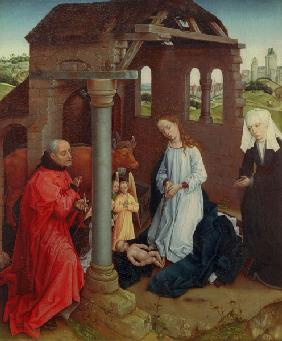 R.van d.Weyden (workshop),Christ s birth