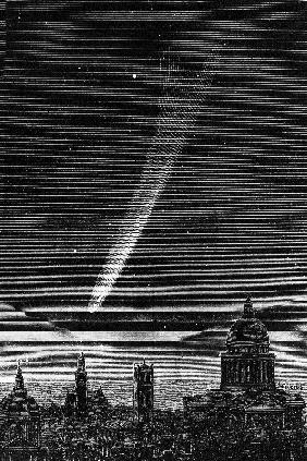 The great comet seen in Pa...