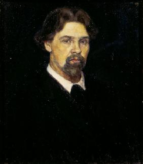 V.I.Surikov, Self-Portrait / 1913