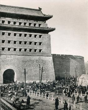 Zhengyangmen, traditionally called ''the Front Gate'', Beijing, illustration from ''Le Monde Illustr